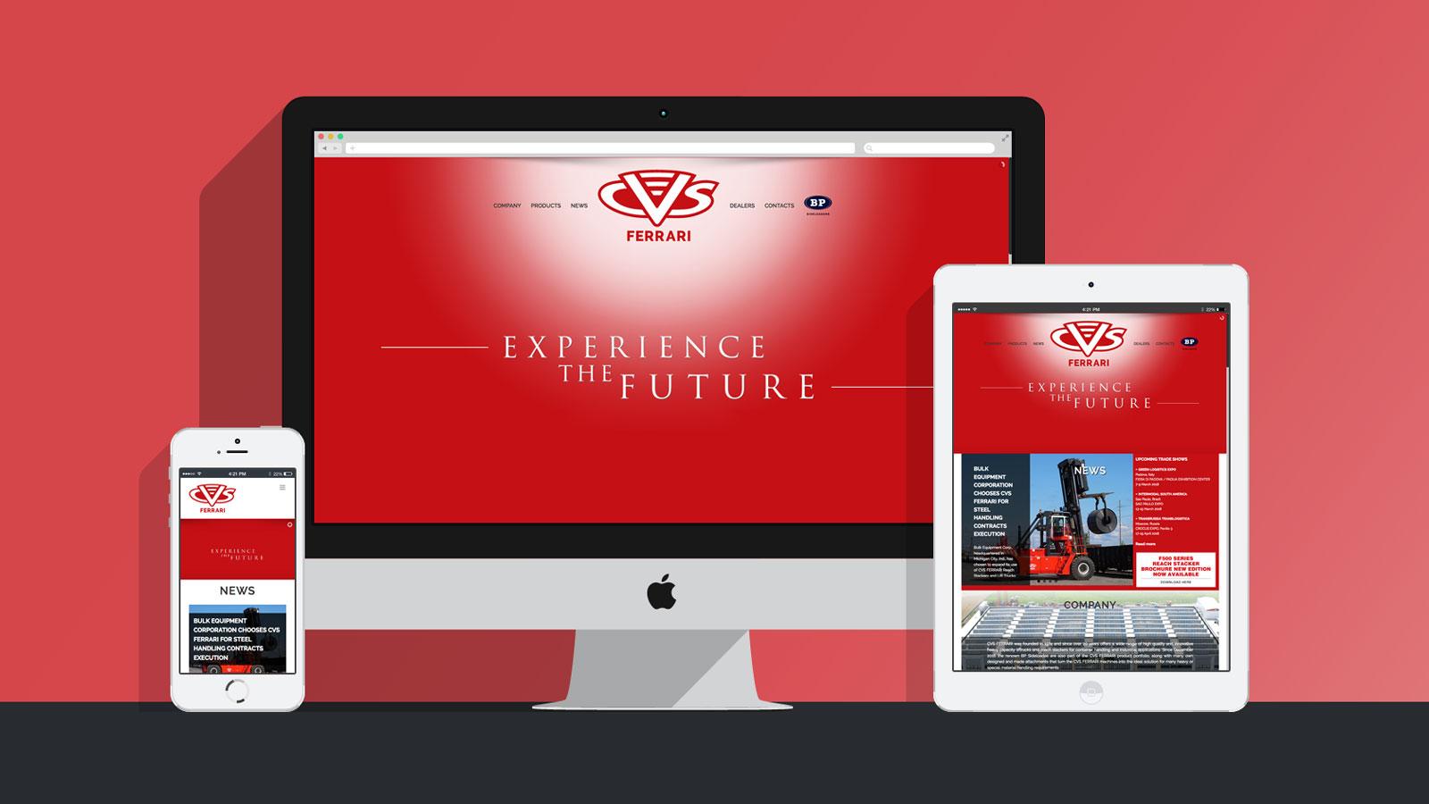 Sito - web - Cvs Ferrari
