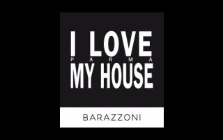 Badini Creative Studio - marchio brand logo - I Love My House Barazzoni
