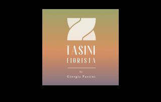 Badini Creative Studio - marchio brand logo - Tasini Fiorista by Giorgia Passini