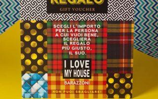 Badini Creative Studio - box buono regalo - I Love My House Barazzoni Parma