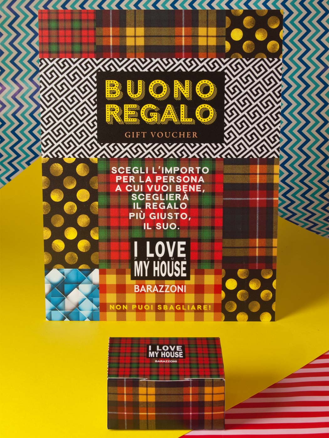 Badini Creative Studio - box buono regalo - I Love My House Barazzoni Parma