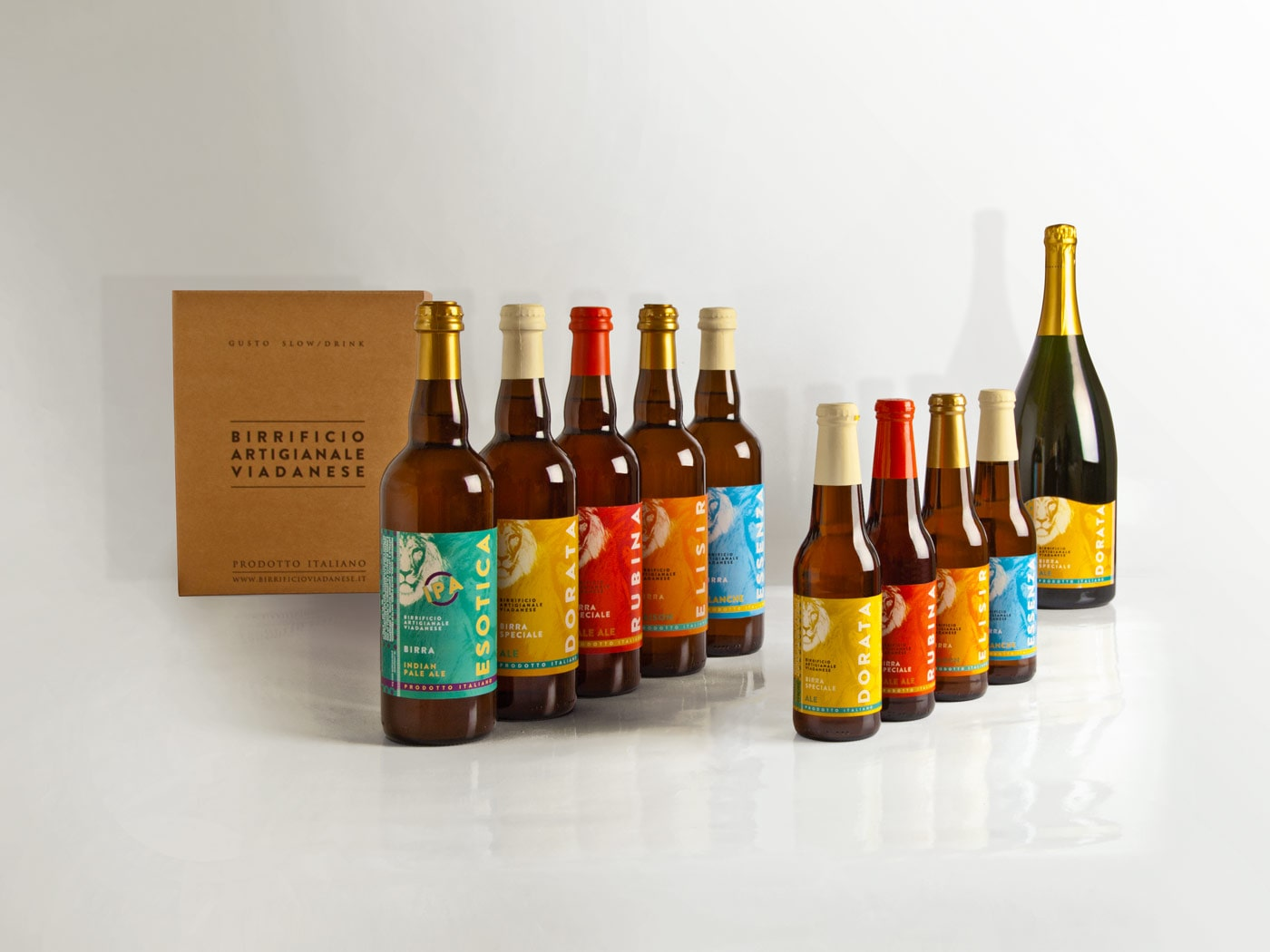 Badini Creative Studio - packaging - etichette - Birrificio Artigianale Viadanese
