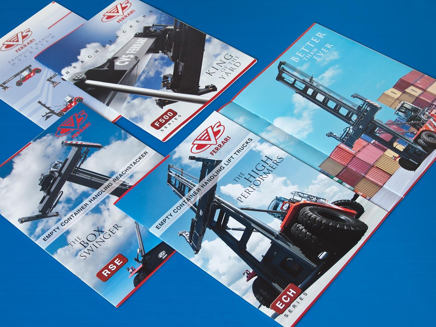 Badini Creative Studio - cataloghi - CVS Ferrari