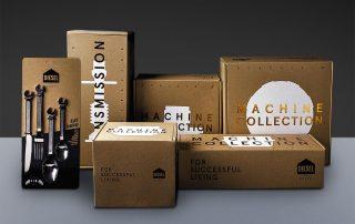 Badini Creative Studio - packaging - Diesel - Machine Collection