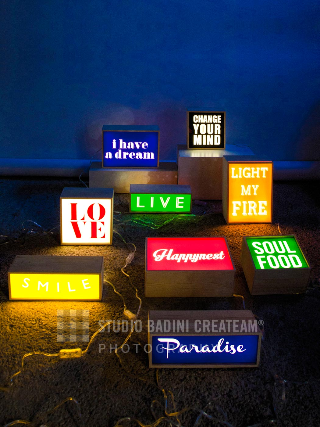 Badini Creative Studio - fotografia - seletti - lighthink box