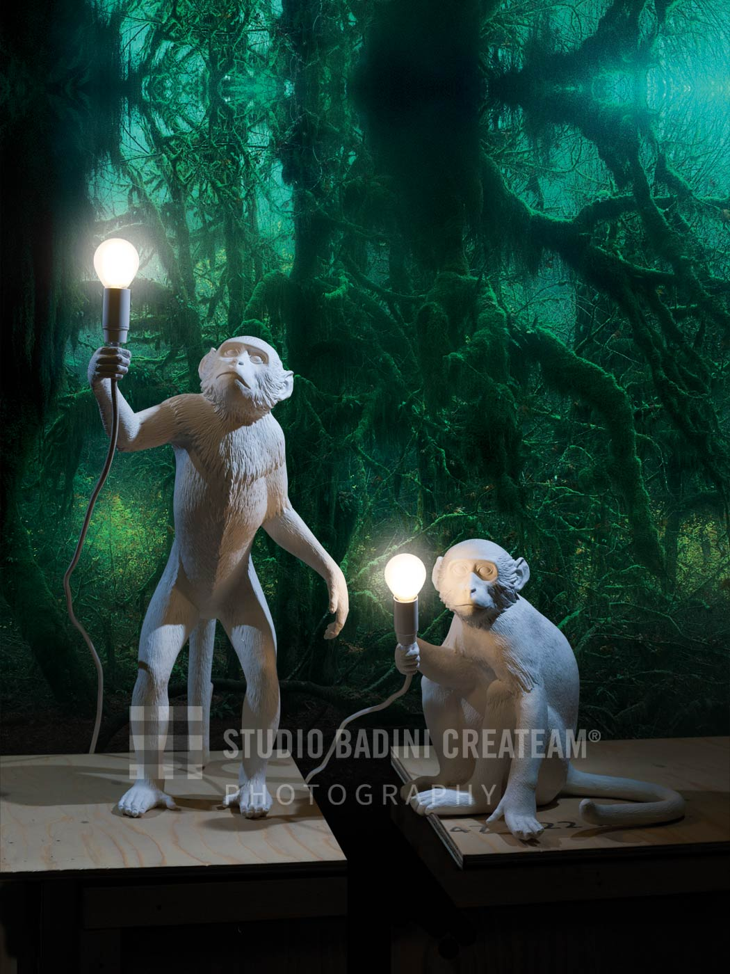 Badini Creative Studio - fotografia - seletti - monkey-lamp