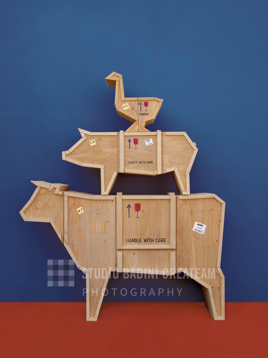 Badini Creative Studio - fotografia - seletti - sending animals