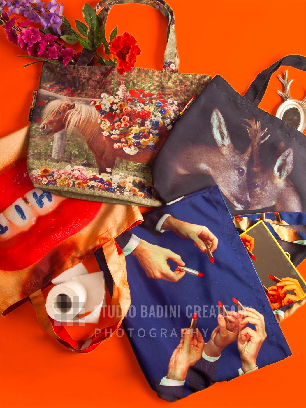 Badini Creative Studio - fotografia - toiletpaper - bags