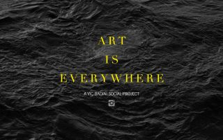 Badini Creative Studio - grafiche - art is everywhere - a vic badini social project