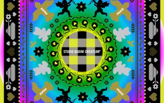 Badini Creative Studio - grafiche - peace mandala