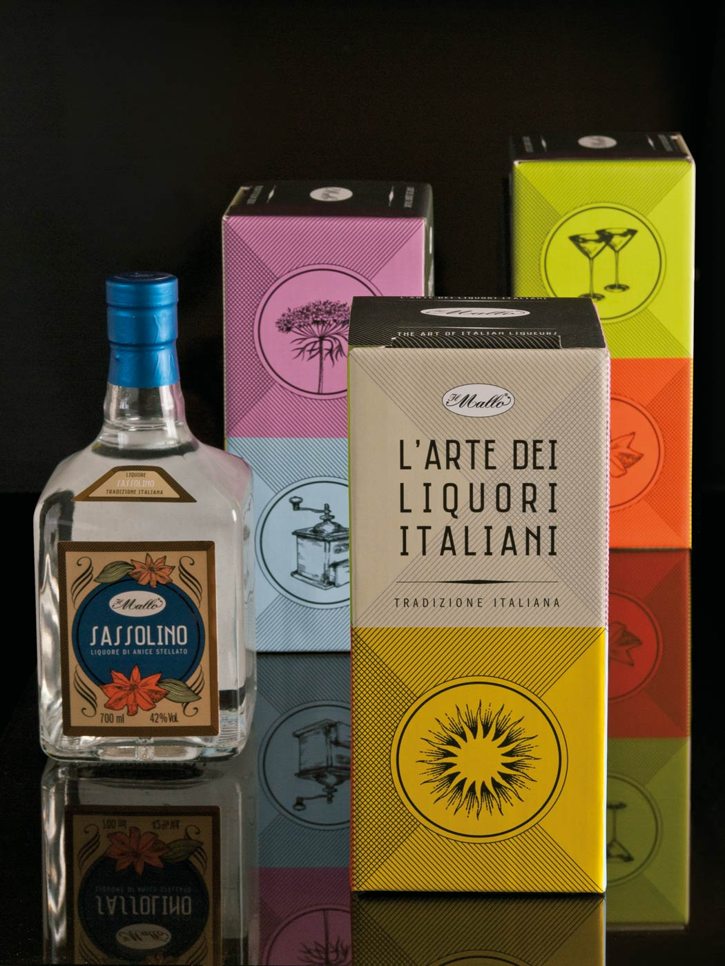Badini Creative Studio - Packaging - Il Mallo - Sassolino