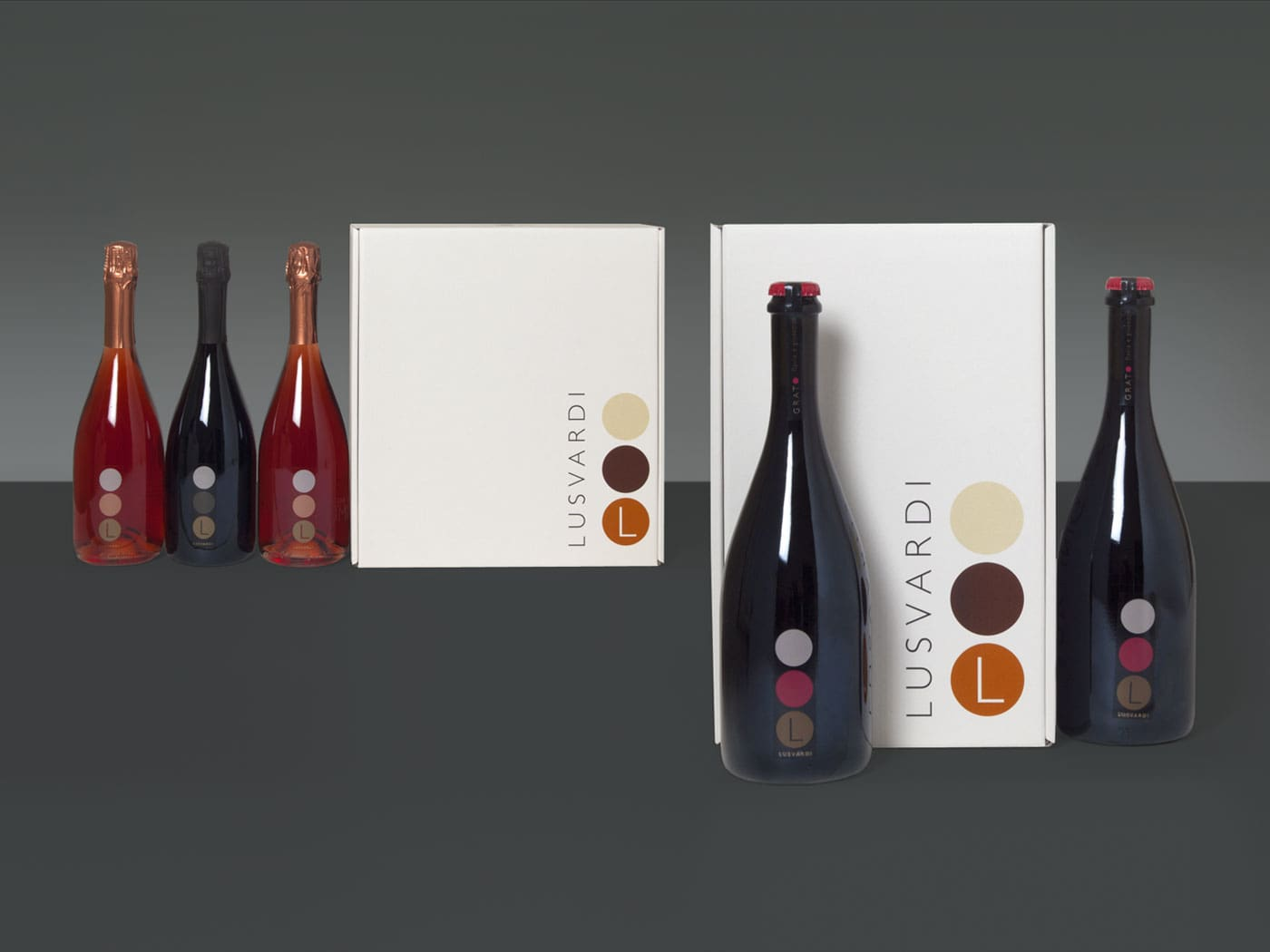 Badini Creative Studio - Etichetta - Packaging - Lusvardi