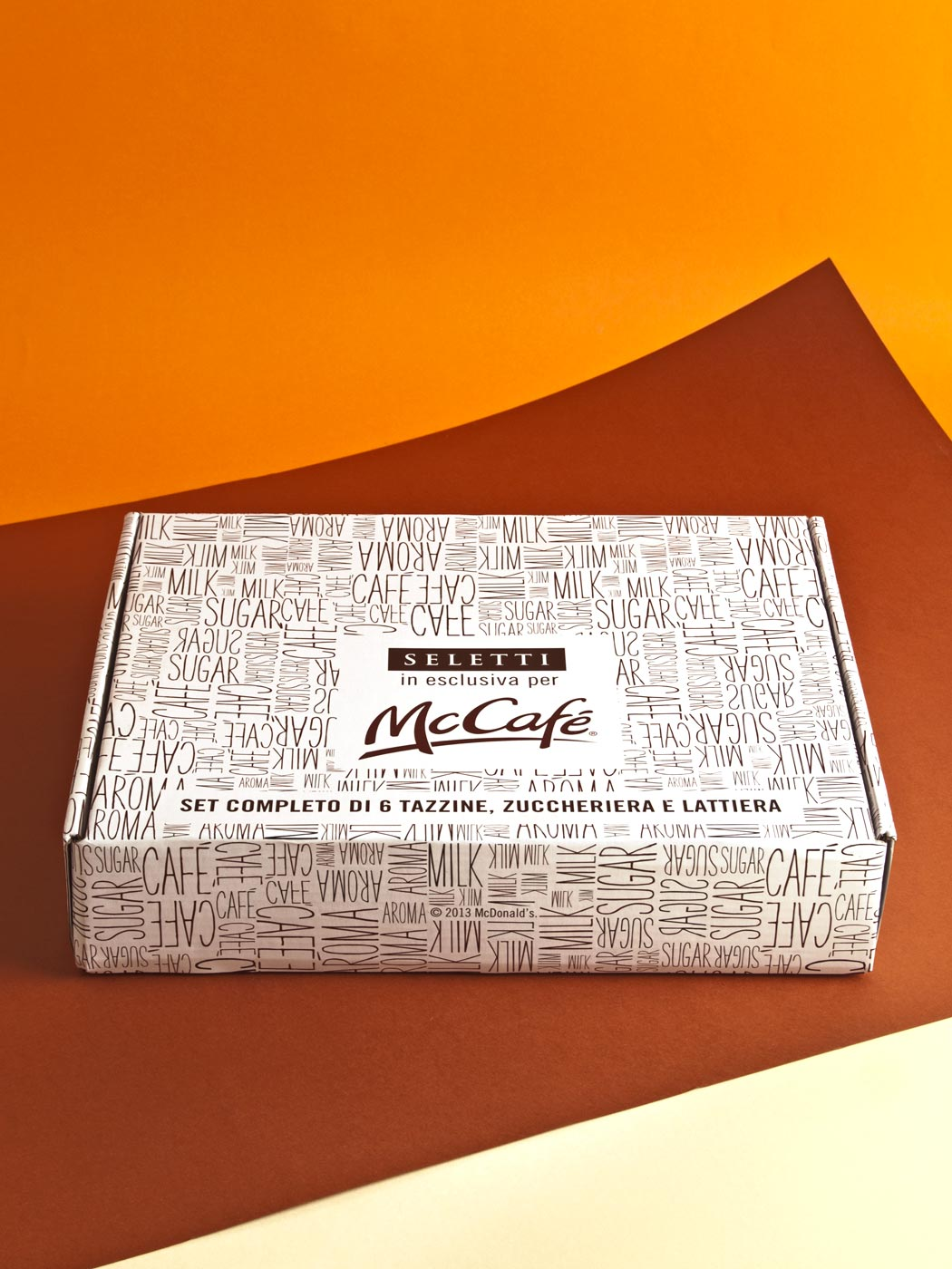 Badini Creative Studio - packaging - Seletti - Mcdonald McCafé