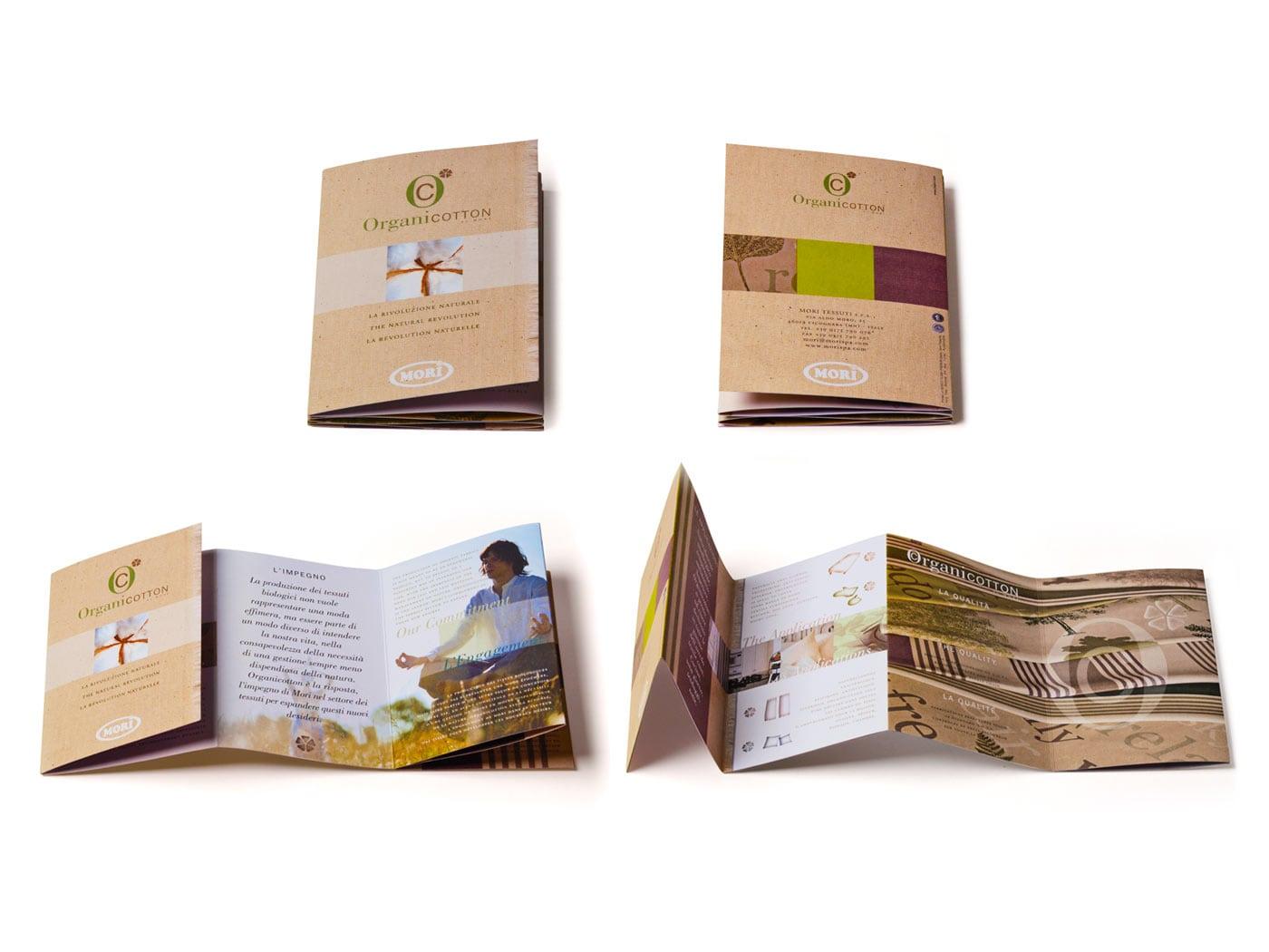 Badini Creative Studio - cataloghi - Mori - Organicotton