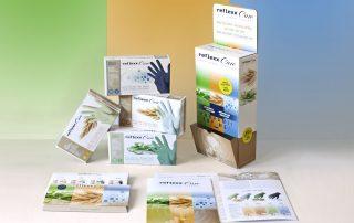 Badini Creative Studio - cataloghi - espositori - Reflexx - linea Reflexx care