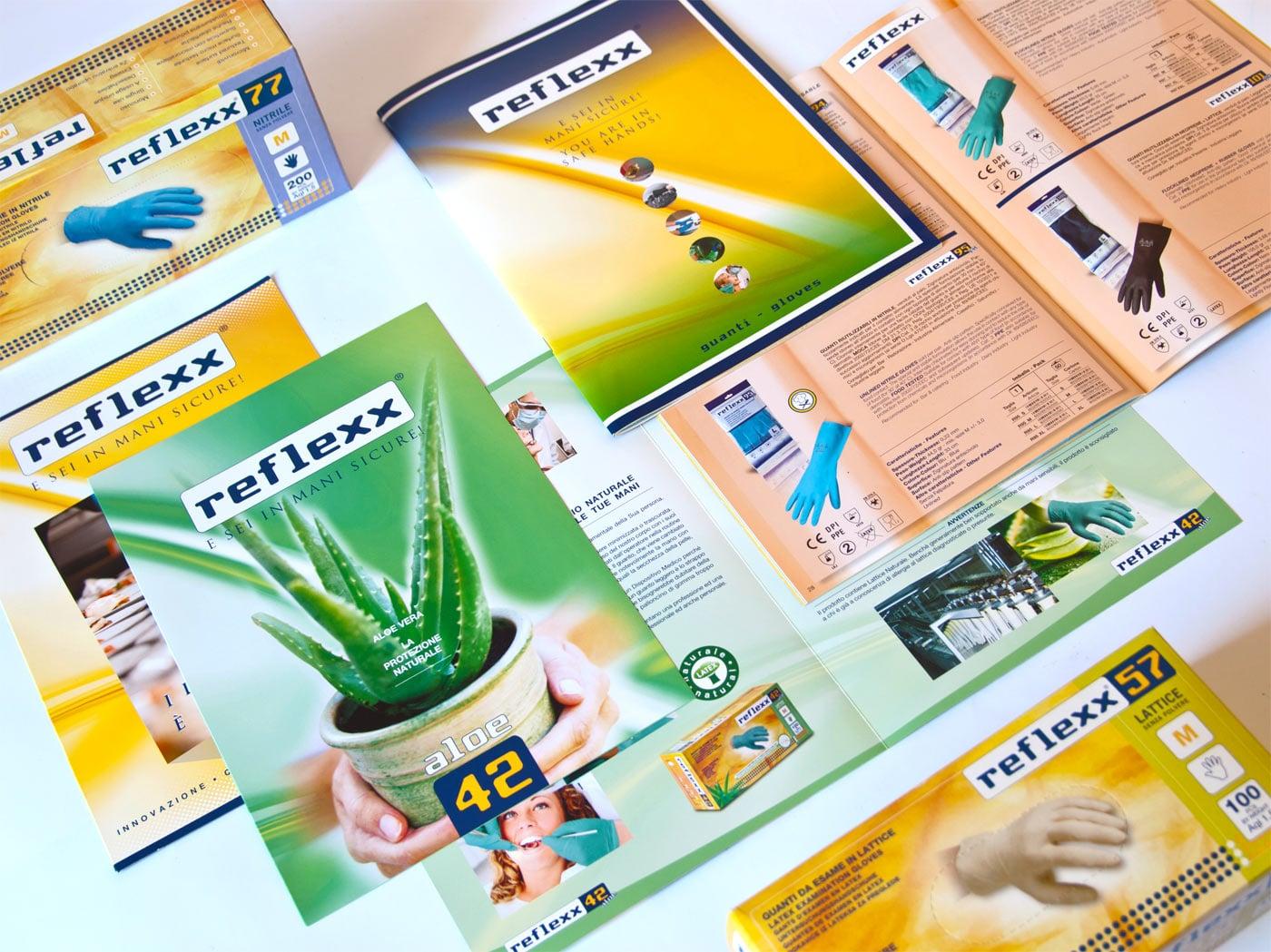 Badini Creative Studio - cataloghi - Reflexx - guanti