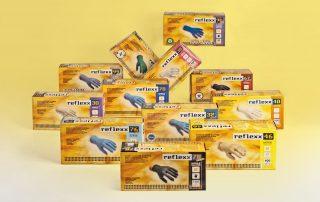 Badini Creative Studio - packaging - Reflexx - guanti