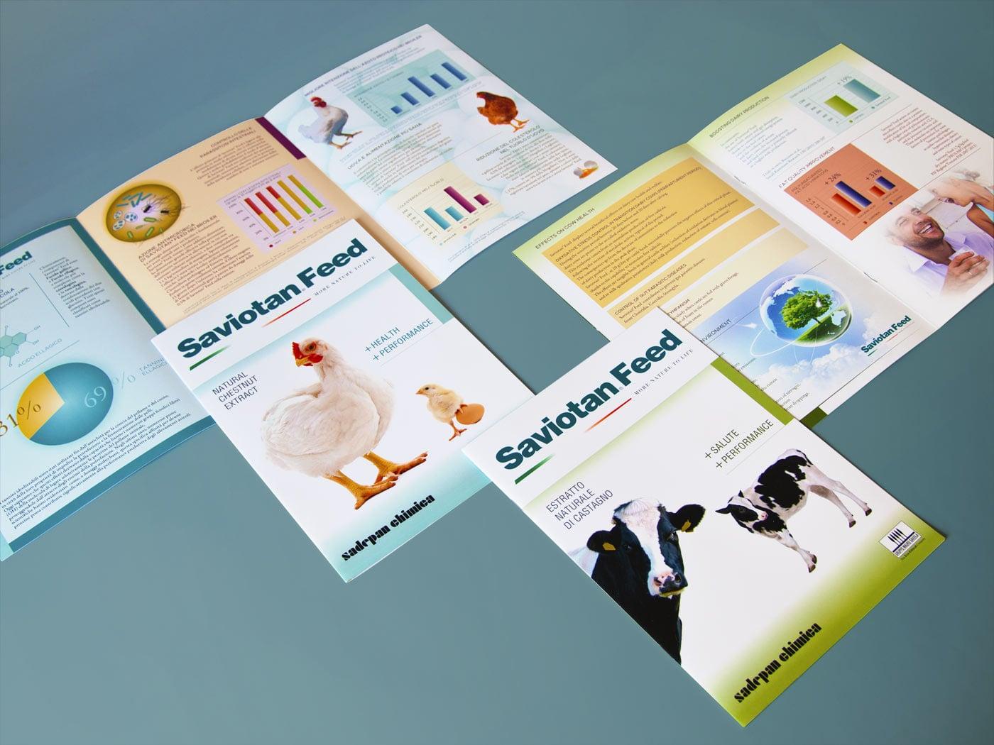 Badini Creative Studio - brochure - sadepan chimica - saviotan feed