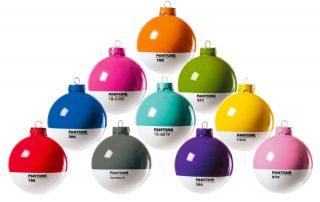 Badini Creative Studio - grafica - seletti - pantone xmas balls