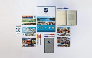 Badini Creative Studio - immagine coordinata - viaggiare nell'oglio po