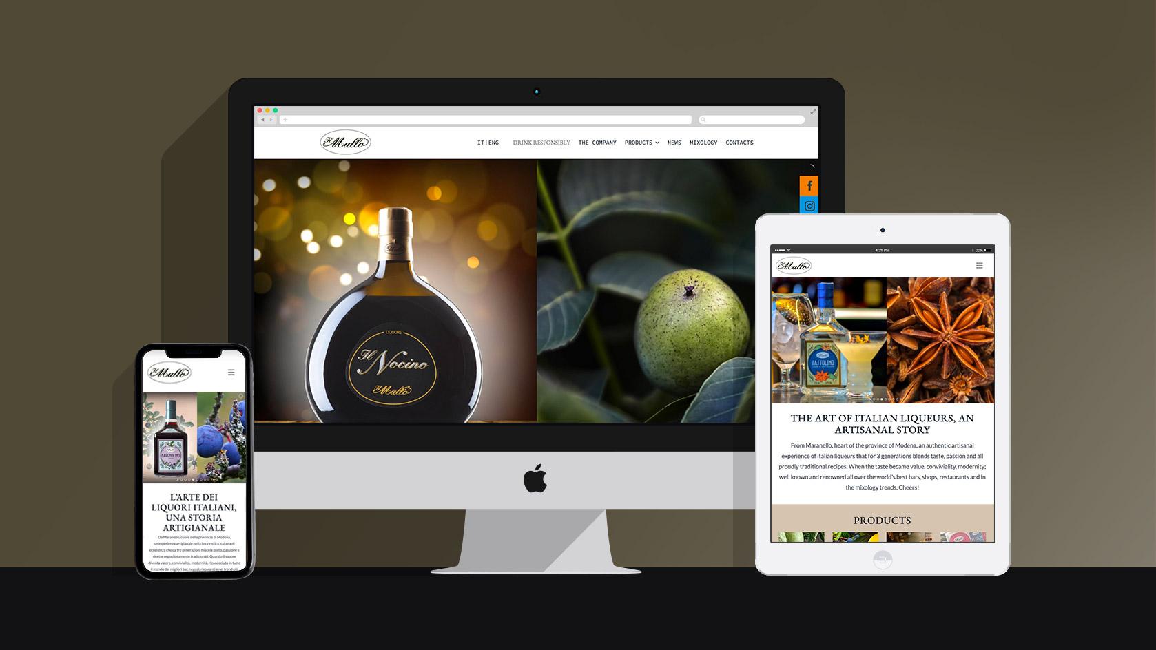 Badini Creative Studio - web - Il Mallo sito