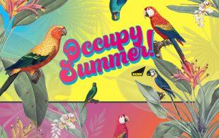 BADINI - graphics - OCCUPY SUMMER
