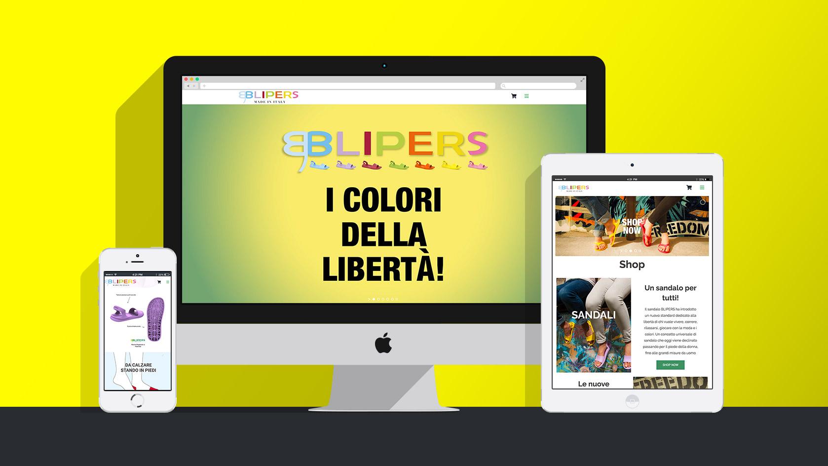 Badini Creative Studio - web - Blipers sito