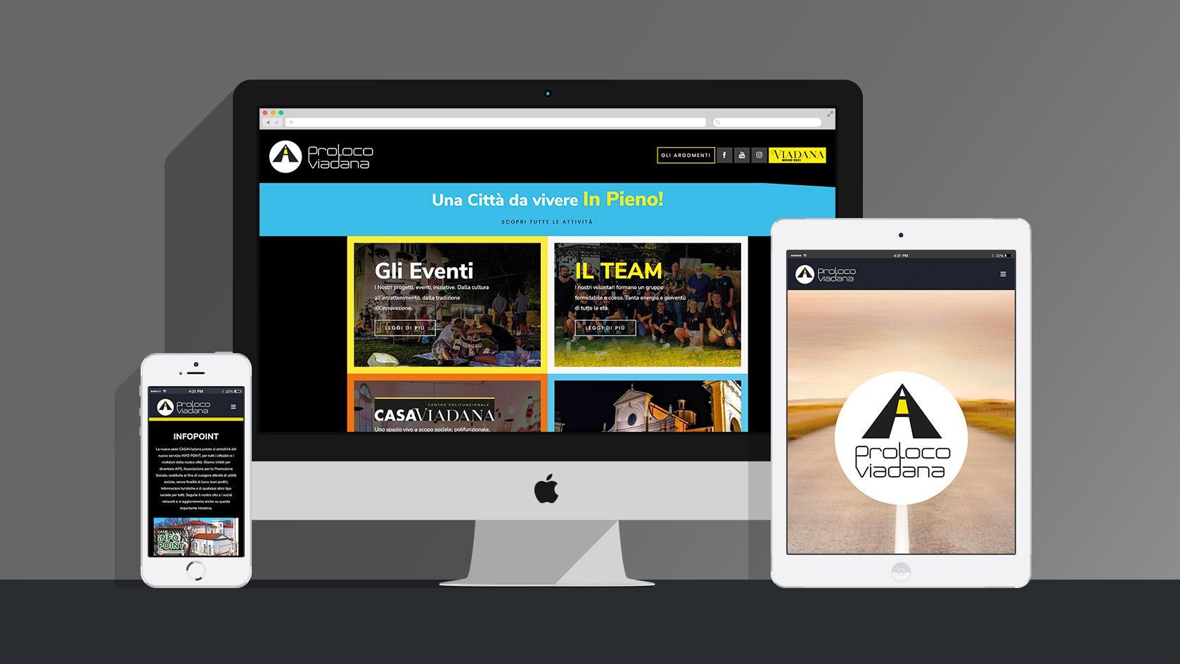 Badini Creative Studio - web - Proloco Viadana sito